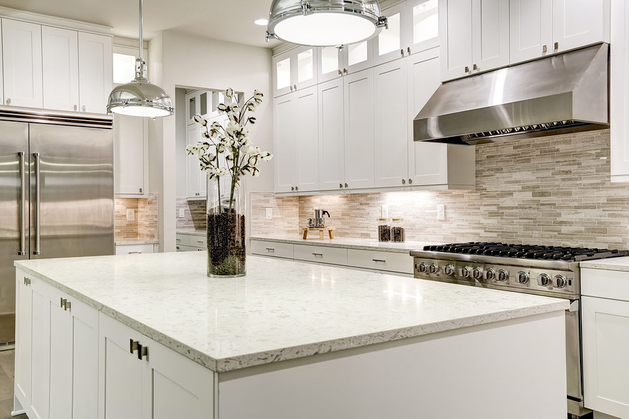 natural stone to achieve a luxury look
