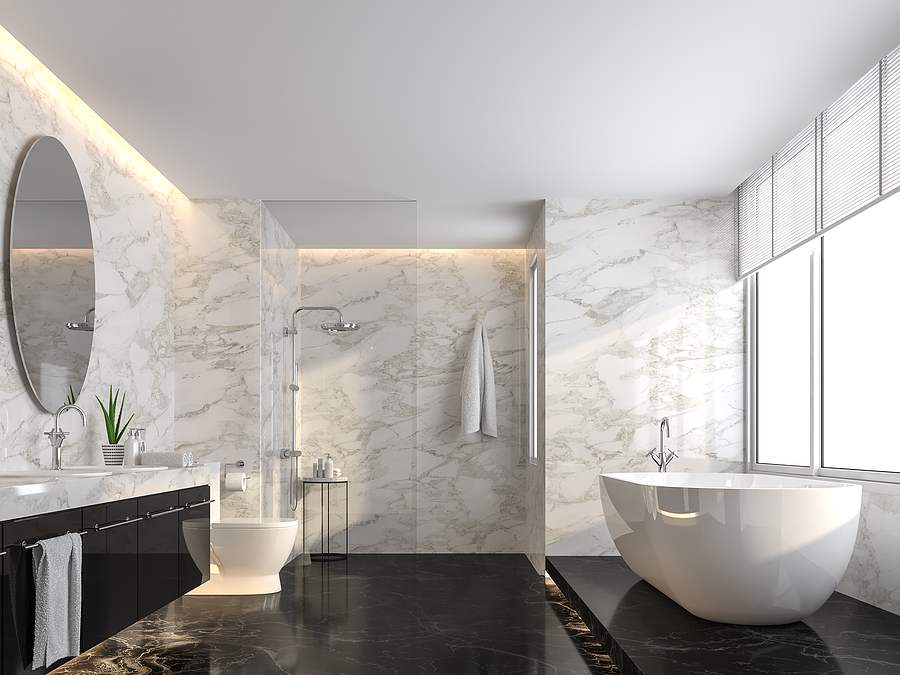 using marble in your home